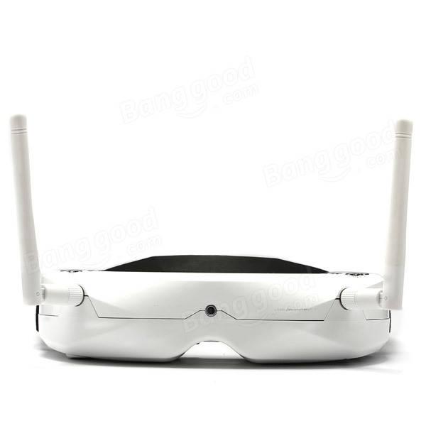 Skyzone SKY02S V + gafas 3D 5.8G 48CH FPV con Head Tracking HD Puerto DVR reproducción para RC Drone