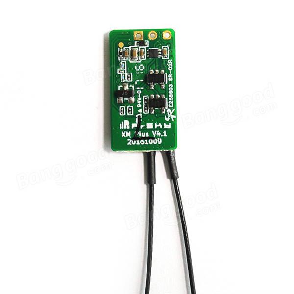 Frsky XM + Micro D16 SBUS Full Range Mini receptor hasta 16CH para RC FPV Racing Drone