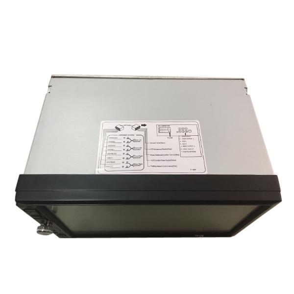 7012B Reproductor estéreo para coche de 7 pulgadas Reproductor MP4 MP5 Bluetooth Pantalla táctil HD Soporte para la versión larga Rearvi