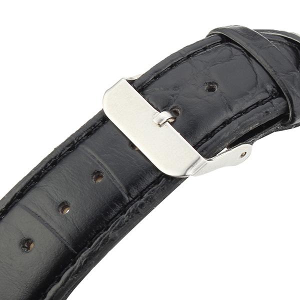 ZUIMEIER Black Urban Reloj para hombres